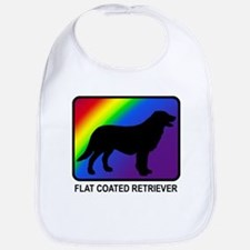 Flat Coated Retriever (rainbo Bib