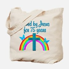 RELIGIOUS 75 YR OLD Tote Bag