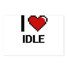 I love Idle Postcards (Package of 8)