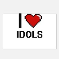 I love Idols Postcards (Package of 8)