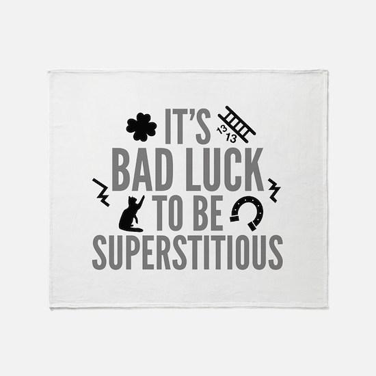 Superstitious Stadium Blanket