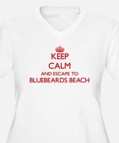 Keep calm and escape to Bluebear Plus Size T-Shirt