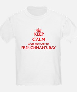 Keep calm and escape to Frenchman'S Bay Vi T-Shirt