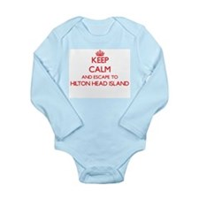 Keep calm and escape to Hilton Head Isla Body Suit