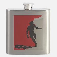 Unique Red black Flask