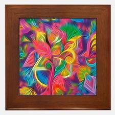 Funny Bright Framed Tile