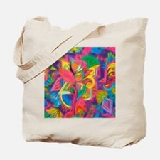 Cute Abstract painting Tote Bag