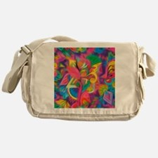 Cool Psychedelic Messenger Bag