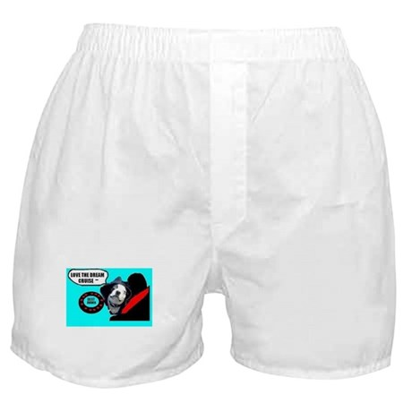 LOVE THE DREAM CRUISE (DOG STYLE) Boxer Shorts