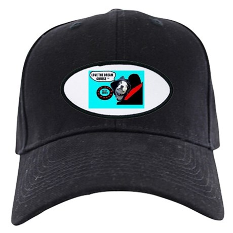 LOVE THE DREAM CRUISE (DOG STYLE) Black Cap
