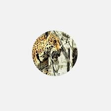 nature wild safari leopard Mini Button