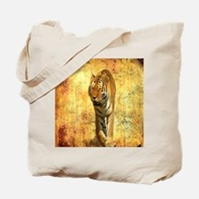 rustic grunge wild tiger Tote Bag