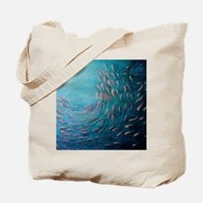 Deep Blue Ocean Tote Bag