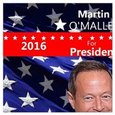 MARTIN O'MALLEY for President 2016 Canvas Art