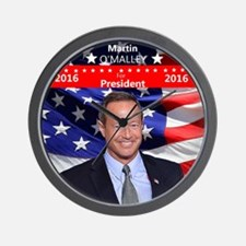 MARTIN O'MALLEY for President 2016 Wall Clock