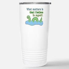 Loch Ness Monster Belie Travel Mug
