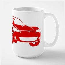 NB Red Large Mug