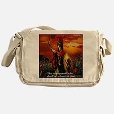 Alexander The Great Messenger Bag