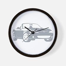 NB Silver Wall Clock