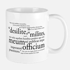 Desilite Milites (black) Mugs