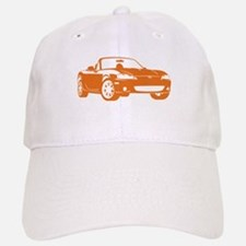 NB Orange Baseball Baseball Cap