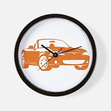 NB Orange Wall Clock