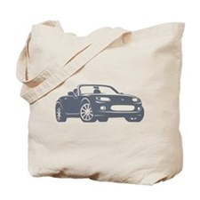 NC 1 Gray Miata Tote Bag