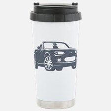 NC 1 Gray Miata Stainless Steel Travel Mug