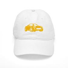 NC 1 Yellow Miata Baseball Baseball Cap