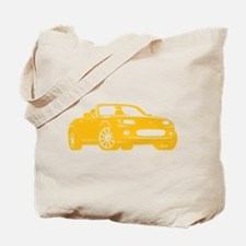 NC 1 Yellow Miata Tote Bag