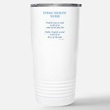 Funny Nursing in public Travel Mug