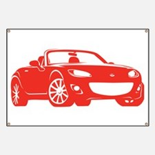 NC 2 Red Miata Banner