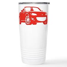 NC 2 Red Miata Travel Mug