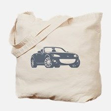 NC 2 Gray Miata Tote Bag