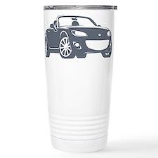 NC 2 Gray Miata Travel Mug