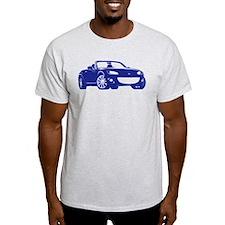 NC 2 Blue Miata T-Shirt