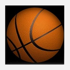 Basketball Sports Tile Coaster