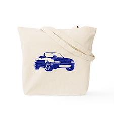 NC 2 Black Miata Tote Bag