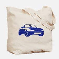 NC 2 Black Miata Tote Bag