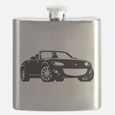 NC 2 Black Miata Flask