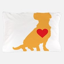Mixed Breed Silhouette Pillow Case