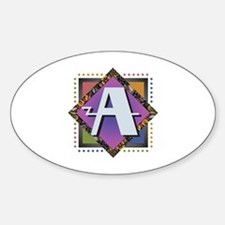 Unique Abagail Sticker (Oval)