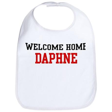 Welcome home DAPHNE Bib