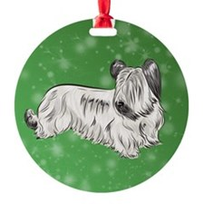 Skye Terrier (Cream) Ornament