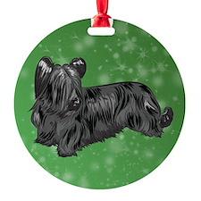 Skye Terrier (Black) Ornament