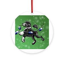 Portuguese Water Dog Ornament (Round)