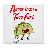 Tacos Drink Coasters