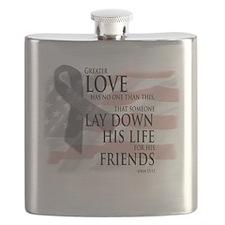 Cute Memorial day Flask