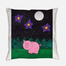 Floid at night Everyday Pillow