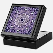 romantic bohemian purple mandala Keepsake Box